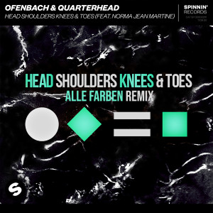 Ofenbach的專輯Head Shoulders Knees & Toes (feat. Norma Jean Martine) [Alle Farben Remix]