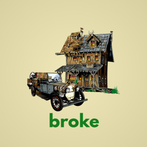 Album Broke from FLEXER
