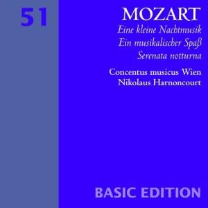 Album Mozart : Serenades Nos 6 & 13, 'Serenata notturna' & 'Eine kleine Nachtmusik' from Concentus Musicus Wien
