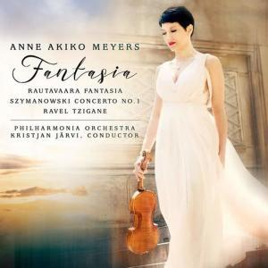 Anne Akiko Meyers的專輯RAUTAVAARA, E.: Fantasia / SZYMANOWSKI, K.: Violin Concerto No. 1 / RAVEL, M.: Tzigane (A.A. Meyers, Philharmonia Orchestra, K. Järvi)
