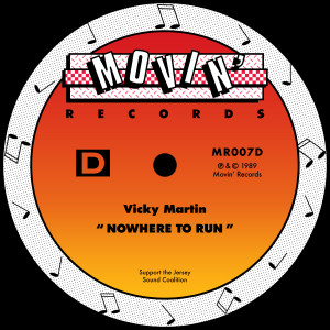 Album Nowhere To Run from Vicky Martin