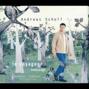 Album Andreas Scholl - Wayfaring Stranger - Folksongs from Orpheus Chamber Orchestra