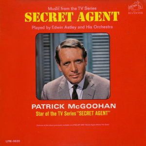 "Album Music from the TV Series ""Secret Agent"" from Edwin Astley & His Orchestra"