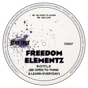 Album B.O.T.T.L.E (Be Open To Think & Learn Everyday) from Freedom Elementz