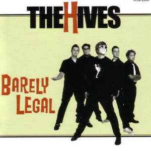 Album Barely Legal from The Hives