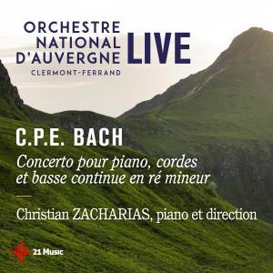Album C.P.E Bach: Concerto pour piano, cordes et basse continue en ré mineur from Christian Zacharias