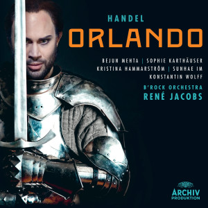 Album Handel: Orlando from René Jacobs