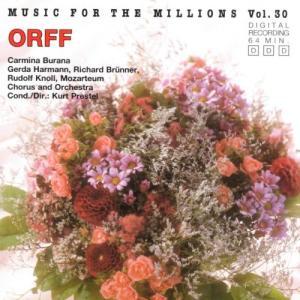 Album Music For The Millions Vol. 30 - Carl Orff: Carmina Burana from Salzburg Mozarteum Orchestra