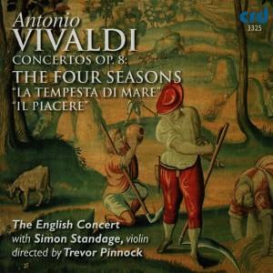 Album Vivaldi: The Four Seasons, La Tempesta Di Mare, Il Piacere from Simon Standage