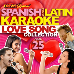 The Hit Crew的專輯Spanish And Latin Karaoke Love Song Collection, Vol. 25