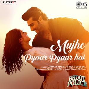 "Mujhe Pyaar Pyaar Hai (From ""Bhoot Police"") dari Shreya Ghoshal"