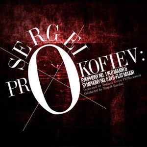 Album Sergei Prokofiev: Symphony No. 1 in D Major & Symphony No. 5 in B-Flat Major from Bowling Green Philharmonia