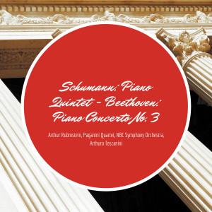 Album Schumann: Piano Quintet - Beethoven: Piano Concerto No. 3 from NBC Symphony Orchestra