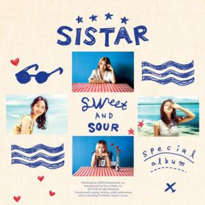 อัลบัม Special Album 'SWEET & SOUR' ศิลปิน SISTAR