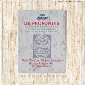 Album De Profundis - German Baroque Cantatas from Musica Antiqua Koln