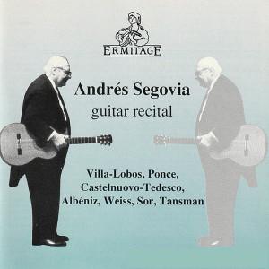 安德烈斯·塞戈維亞的專輯Guitar Recital
