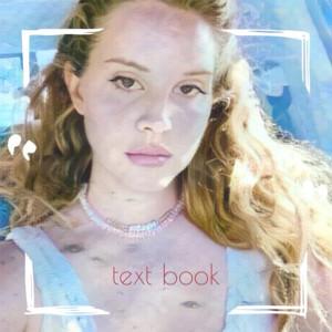 Text Book dari Lana Del Rey