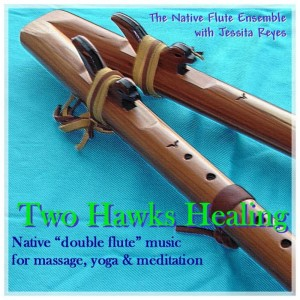 Native Flue Ensemble的專輯TWO HAWKS' HEALING - Native Flute for Yoga, Massage & Relaxation