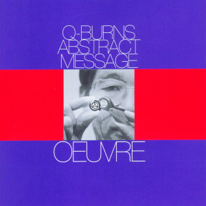 Oeuvre 1998 Q-Burns Abstract Message
