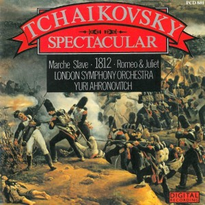 Album Tchaikovsky Spectacular from Yuri Ahronovitch