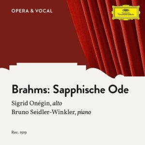 Album Brahms: 4. Sapphische Ode, Op. 94 from Bruno Seidler-Winkler
