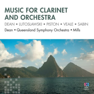 Album Music For Clarinet And Orchestra from Richard Mills