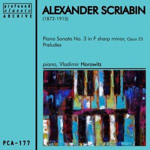 Album Alexander Scriabin from Vladimir Horowitz
