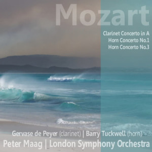 Album Mozart: Clarinet Concerto in A, Horn Concerto No. 1, Horn Concerto No. 3 from Barry Tuckwell