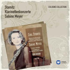 Sabine Meyer的專輯Stamitz: Klarinettenkonzerte Vol.2