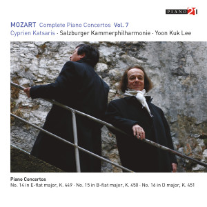 Listen to Piano Concerto No. 14 in E-Flat Major, K. 449: I. Allegro vivace song with lyrics from Salzburger Kammerphilharmonie