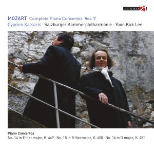 Album Mozart: Complete Piano Concertos, Vol. 7 (Live - K. 449, 450 & 451) from Cyprien Katsaris