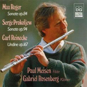 Album Reger, Prokofiev & Reinecke: Flute Sonatas from Paul Meisen