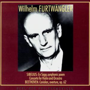 威爾海爾姆·富爾特文格勒的專輯Wilhelm Furtwangler Conducts. Jean Sibelius, Ludwig van Beethoven