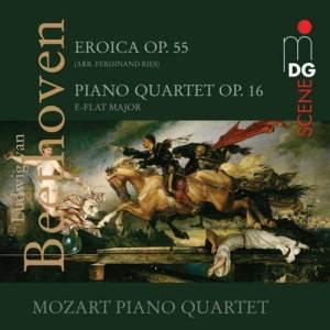 Album Beethoven: Eroica, Op. 55 & Piano Quartet, Op. 16 from Mozart Piano Quartet