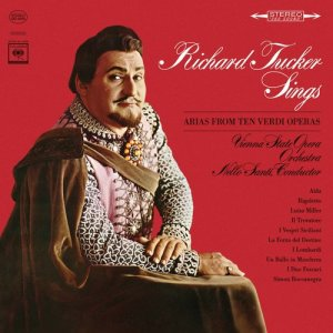 Album Verdi: Arias from Richard Tucker