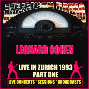 Live in Zurich 1993 - Part One