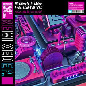 Hardwell的專輯This Is Love (BLK RSE Remix)