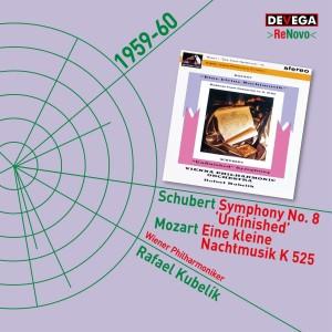 Album Mozart: Serenade No. 13 'Eine Kleine Nachtmusik' - Schubert: Symphony No. 8 'Unfinished' from Rafael Kubelik