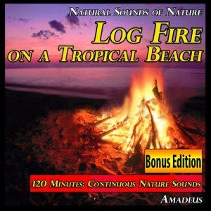Album Log Fire on a Tropical Beach: Natural Sounds of Nature: Bonus Edition from Amadeus