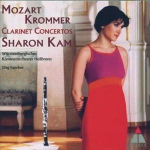 Sharon Kam的專輯Krommer & Mozart : Clarinet Concertos (Elatus -)