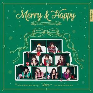 TWICE的專輯Merry & Happy (Explicit)