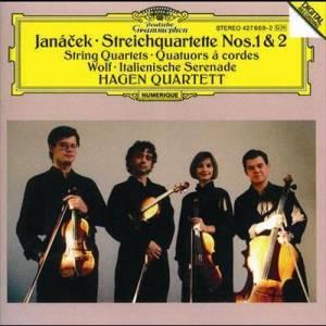 Hagen Quartett的專輯JanA!cek: String Quartets Nos.1 & 2 / Wolf: Italian Serenade