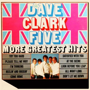 Album More Greatest Hits from The Dave Clark Five