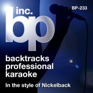 Karaoke: In the Style of Nickelback (Karaoke Version)