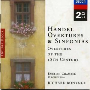 Handel, etc.: Overtures of the 18th Century 2000 Richard Bonynge