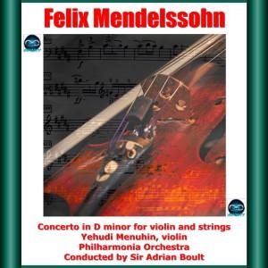 Adrian Boult的專輯Mendelssohn: Concerto in D minor for Violin and Strings