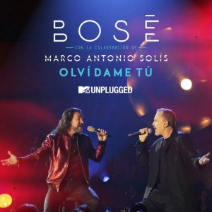 Album Olvídame tú (with Marco Antonio Solís) [MTV Unplugged] from Miguel Bose