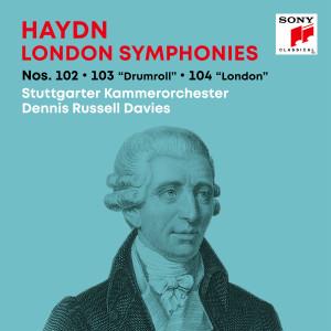 "Album Haydn: London Symphonies / Londoner Sinfonien Nos. 102, 103 ""Drumroll"", 104 ""London"" from Stuttgarter Kammerorchester"