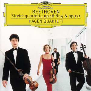 Hagen Quartett的專輯Beethoven: String Quartets No.4 op.18 & No.14 op.131