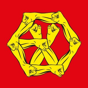 EXO的專輯THE POWER OF MUSIC – The 4th Album 'THE WAR' Repackage (Chinese Version)